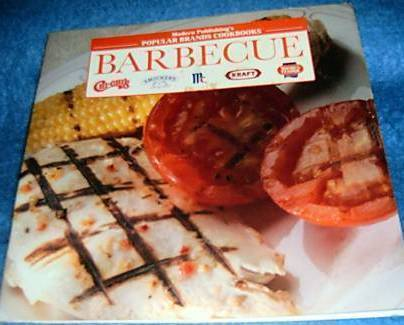 Primary image for Popular Brands Cookbooks, Barbecue Cookbook