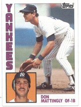 1984 Topps #8 Don Mattingly RC - New York Yankees (RC - Rookie Card) NM-MT MLB - $33.99