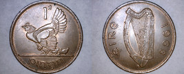 1968 Irish Penny World Coin - Ireland - $5.49
