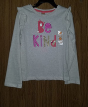 "Gymboree Girls Cotton, Long Sleeves ""Be Kind"" Tee, Size 5T(US)  NWT - $12.86"