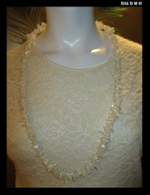 Polished Mother of Pearl Nuggets 35 inch Necklace - Free Shipping - $65.00