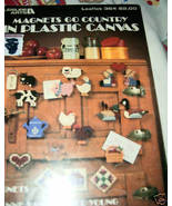 Magnets Go Country in Plastic Canvas Leaflet 364 Leisure Art - $4.50