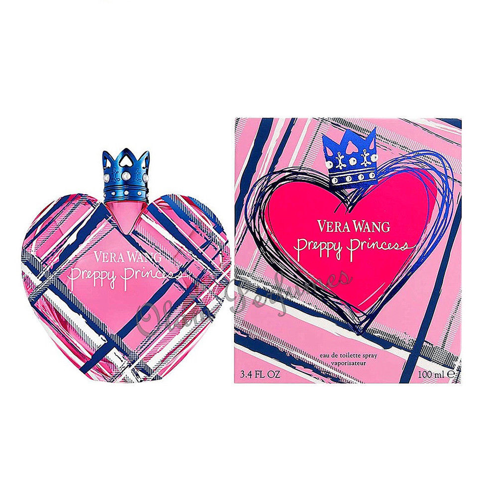 Primary image for Vera Wang Preppy Princess Eau De Toilette Spray 3.4oz 100ml *New In Box Sealed