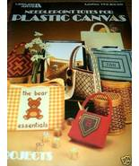 Needlepoint Totes for Plastic Canvas Leisure Arts No 173 - $4.50