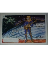 Pattern, Transfer,Tri Chem Hot IronTransfer Book, Rock 'n Starship, 1978 - $10.00