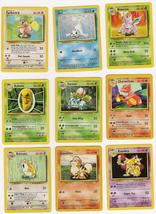 Set of 10 Base Set uncommon Pokemon Cards - $11.75