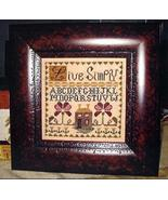 Live Simply cross stitch chart Abby Rose Designs - $7.20