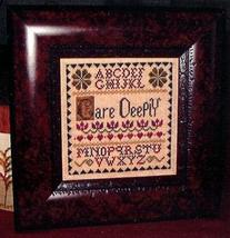 Care Deeply cross stitch chart Abby Rose Designs - $7.20