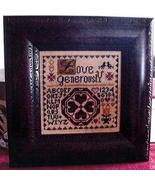 Love Generously cross stitch chart Abby Rose Designs - $7.20