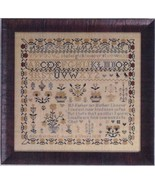 Ann Merchant Reproduction Sampler cross stitch chart Abby Rose Designs - $14.40