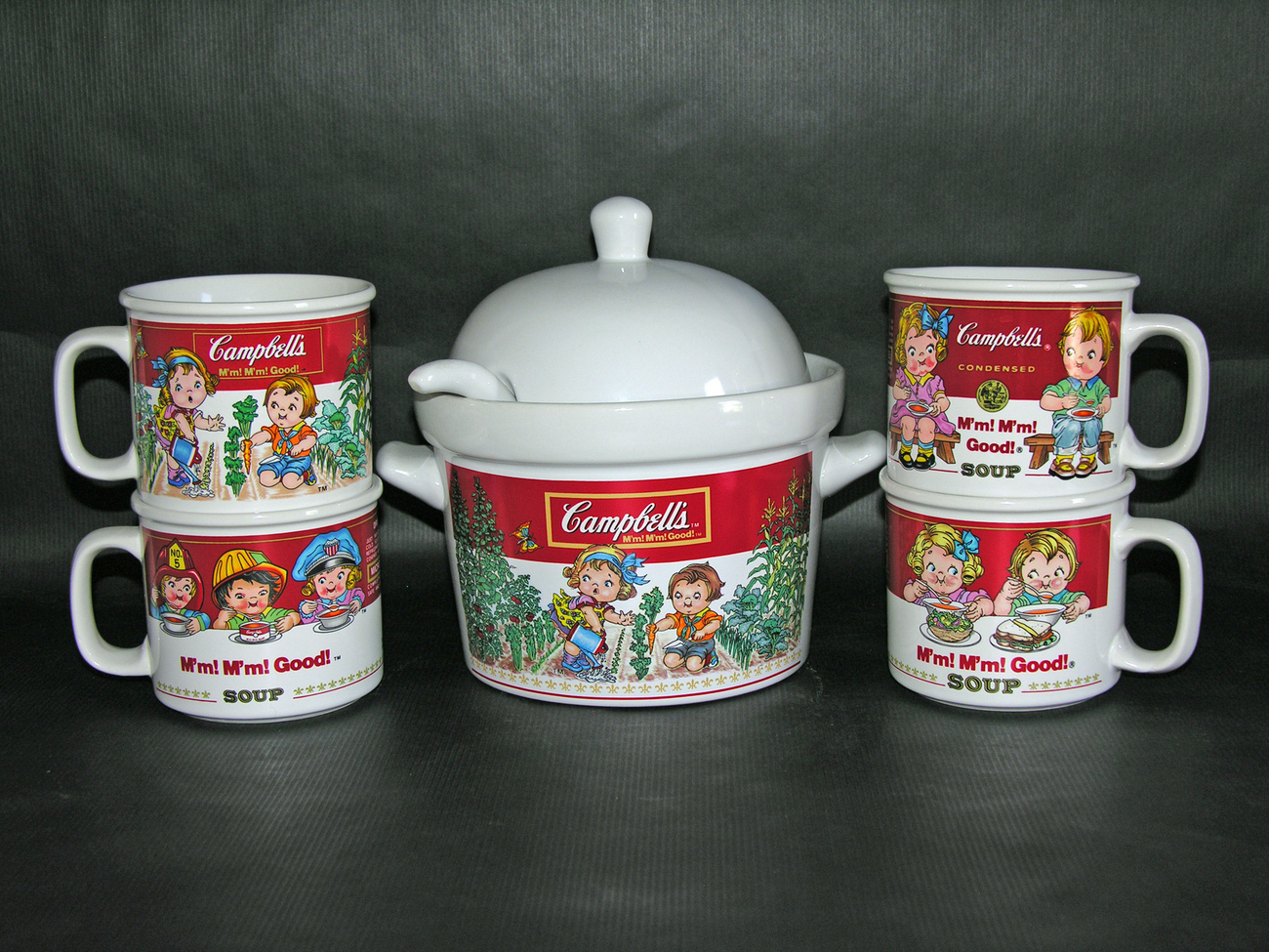 Campbells tureen set 1