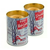 Maple Syrup Candle with a Crackling Wooden Wick. Natural Soy Wax Candles... - $51.25