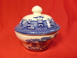 1 One in the Carlyle Pattern. Div. of Lenox China Sugar Bowl with Lid from Oxford