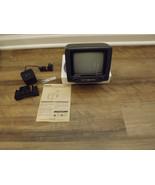 "Vintage Radio Shack Portavsion 5"" Black White Home Auto Television 16-130 - $39.99"