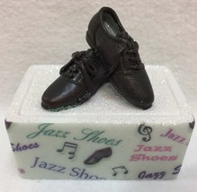 Jazz Shoes Trinket Box Enesco  Its All About Dance Covered Glitter Porce... - $19.75