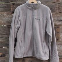 Columbia Field Gear Mens Long Sleeve Fleece Jacket Size Large L - $19.79