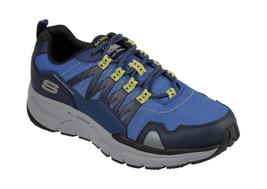 Men's Skechers Escape Plan 2.0 Ashwick Trail Shoe Navy/Lime - $104.51