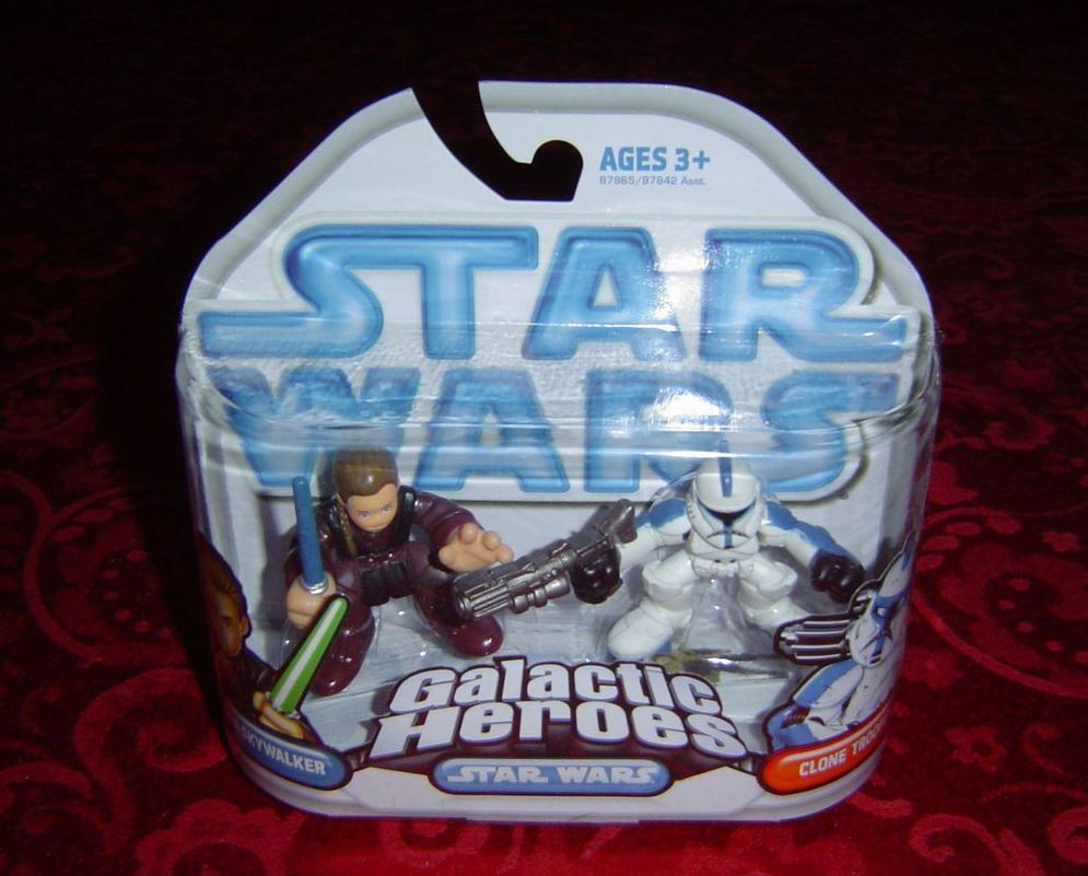 Star Wars Galactic Heroes Anakin Skywalker and Clone Trooper Hasbro