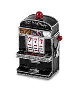 Non Metal Bejeweled Lucky 7 Slot Machine Trinket Box (Length=1.75) (Widt... - €42,09 EUR
