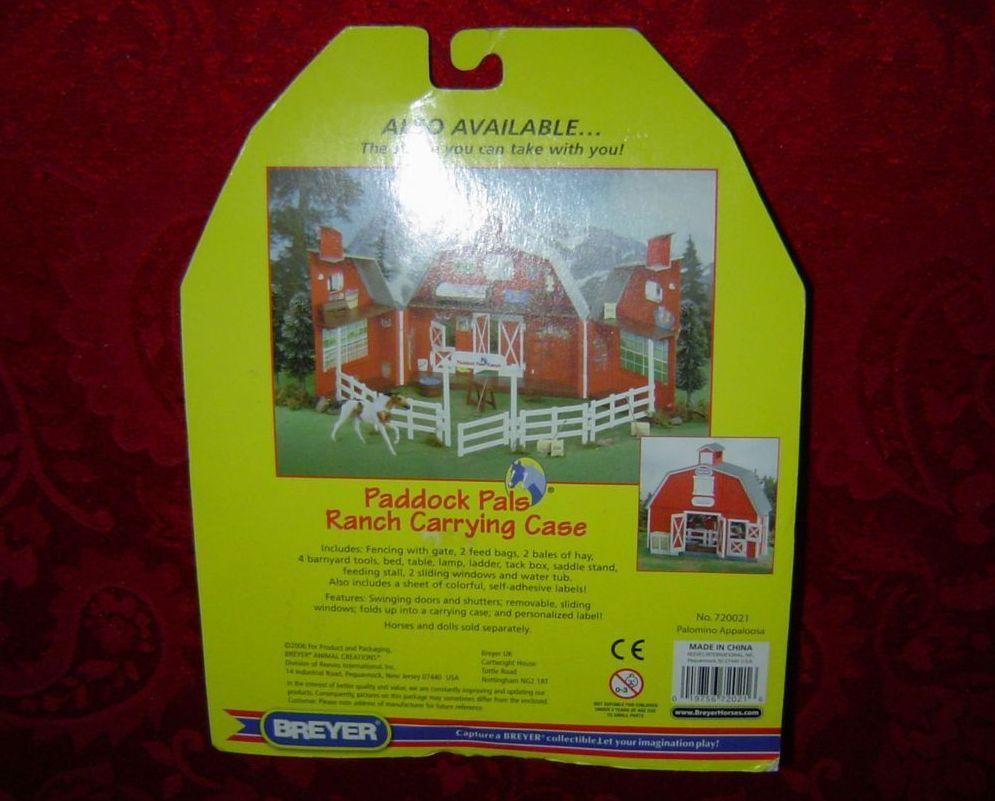 Breyer Paddock Pals Palomino Appaloosa No. 720021