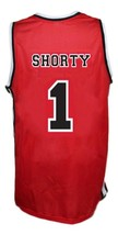 Fredo Starr Shorty #1 Sunset Park Movie Basketball Jersey New Sewn Red Any Size image 4