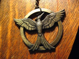 Mockingjay Keychain - The Hunger Games Bird Movie Book Game Lions Gate K... - $19.79