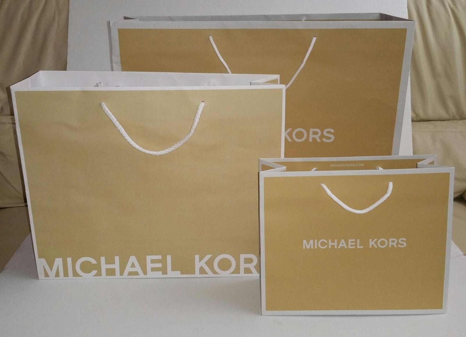 11d471598581 Michael Kors Paper Shopping Gift Bag and 50 similar items. S l1600
