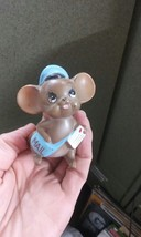 Josef Originals Mailman Mail Delivery Mouse Figurine Vintage - $24.62