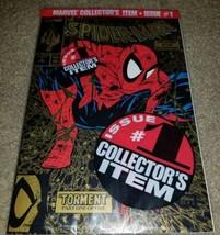 Marvel Comic Spider-man 1 NM+ McFarlane sealed 8/90 Gold ERROR Rare Htf ... - $299.99