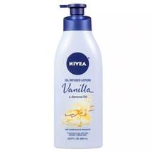 Nivea Oil-Infused Lotion, Vanilla & Almond Oil, 16.9 oz - $9.89