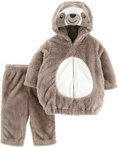 Carters Little Sloth Halloween Costume Size 12 Months Boys 2 Piece Set - £25.77 GBP