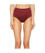 Kate Spade New York Women's Scalloped High Waist Bottoms, Sumac, Small - $59.40