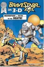BraveStarr in 3-D Comic Book #2 Blackthorne 3-D Series #40 1988 VERY FINE- - $3.75