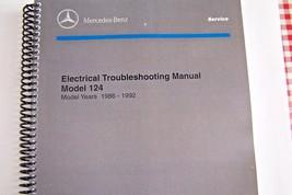 MERCEDES MANUAL SERVICE INTRODUCTION 1994 REPAIR BOOK PRELIMINARY MB 124 129 140
