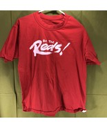 Vintage Single Stitch Be the Reds Cincinnati Baseball T-Shirt Men's Size... - $14.84