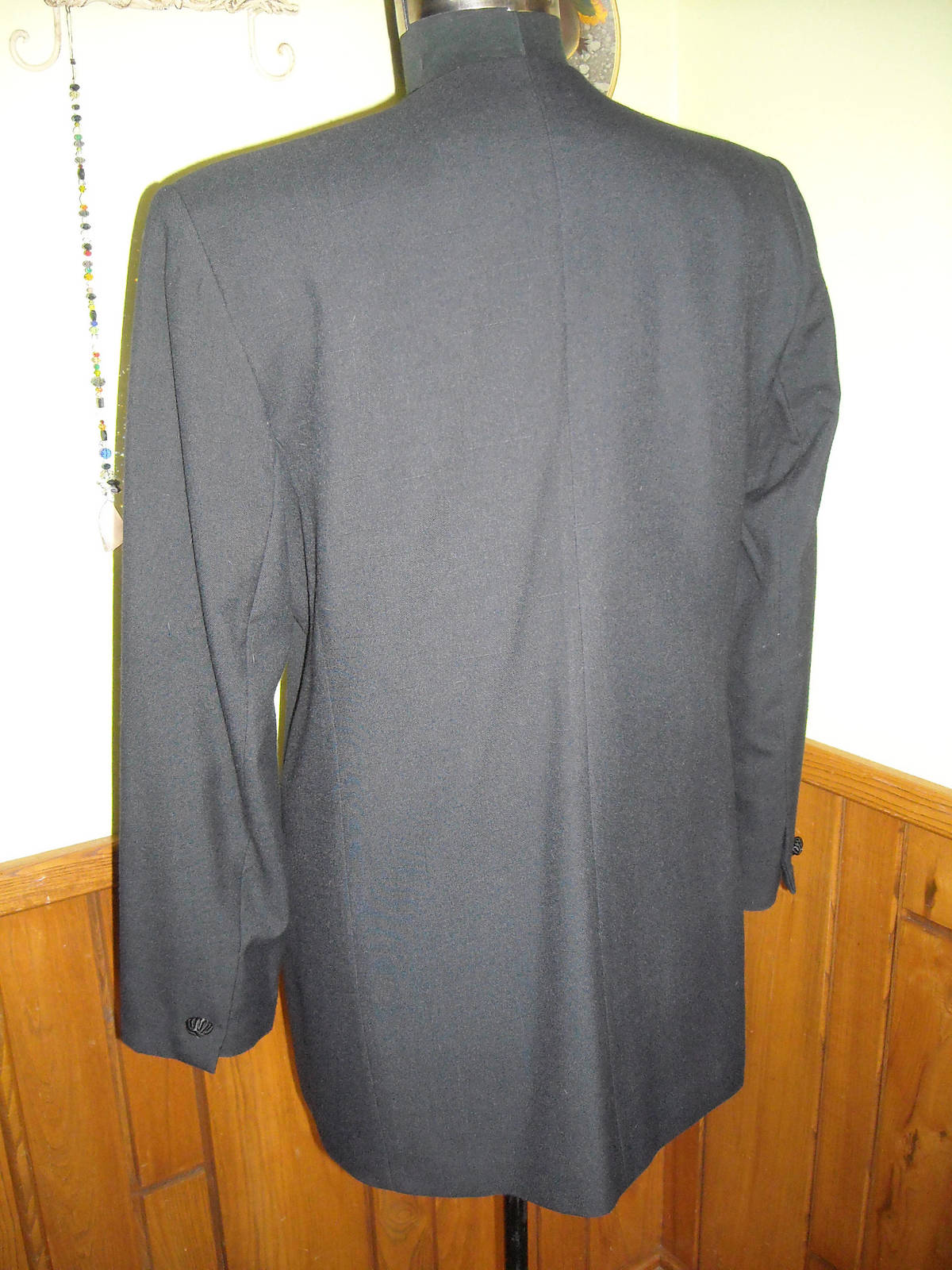 Women's Executive Collection Black Dress Jacket With Embroidery & Rhinestones 14 image 6