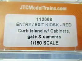 Jacksonville Terminal Company # 112008 Entry/Exit Kiosk Red N-Scale image 3