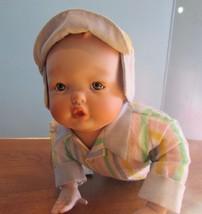"""ASHTON DRAKE Porcelain Doll """"PLAYTIME BABIES """" 12"""" CRAWLING """"TODD"""" - $34.65"""