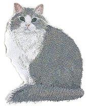 Amazing Custom Cat Portraits[Norwegian Forest Cat ] Embroidered Iron On/... - $9.89