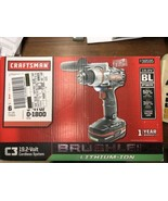 Craftsman 19.2 Brushless 1/2 Inch Chuck Drill / Driver w/ Lithium Ion Ba... - $184.48
