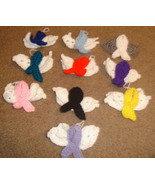 Faceless angel awareness ornaments - PATTERN ONLY - $4.99
