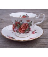 Royal Albert Centennial Rose Tea Cup & Saucer Set Mint - $21.95