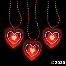 Heart Light-Up Bead Necklaces - $22.37