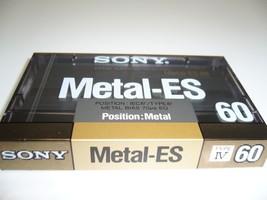Sony Metal Type Iv ES60 Audio Cassette Tape - $64.19