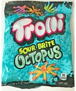Trolli Sour Brite Octopus Gummy Candy Assorted Flavors Ocean Sea Party 4... - $7.91