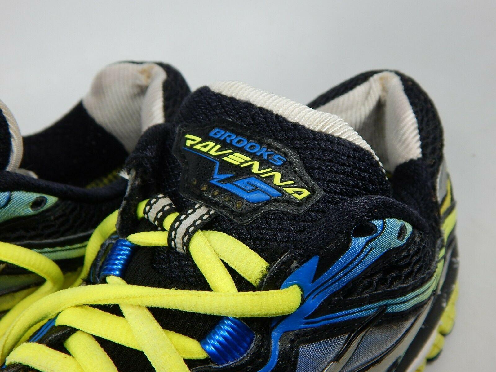 Brooks Ravenna 5 Size US 8.5 M (D) EU 42 Men's Running Shoes Black 1101561D048