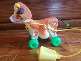 Vintage 1972 Fisher Price Molly Moo Cow Pull-Toy - $21.24