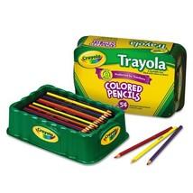 Crayola Colored Pencils, 54 Premium Quality, Long-Lasting, Pre-Sharpened... - $16.67