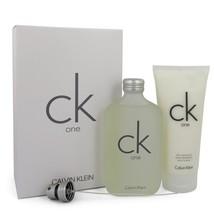 CK ONE by Calvin Klein Gift Set -- 6.7 oz Eau De Toilette Spray + 6.7 oz... - $74.50
