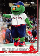 2019 Topps Opening Day Mascot #M15 Wally The Green Monster > Boston Red Sox - $0.99